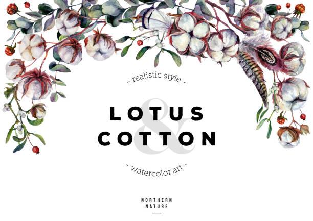 ilustrações de stock, clip art, desenhos animados e ícones de horizontal cotton backdrop - pena de pássaro algodão