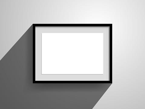 horizontal frame wallmounted