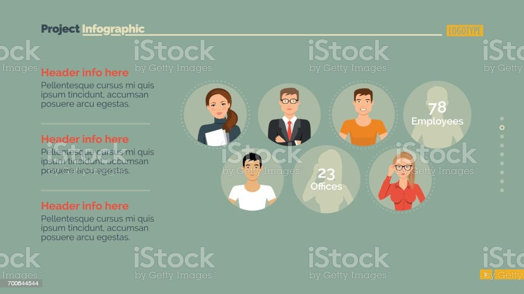 Horizontal Infographic Element Stock Vector Art & More Images of Adult
