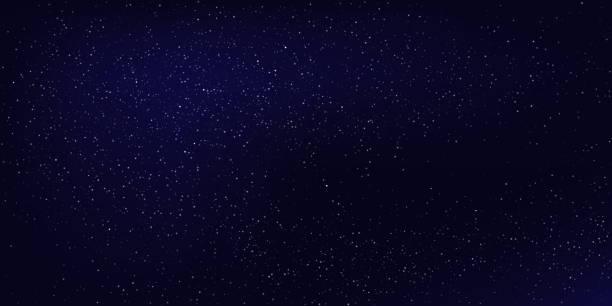水平夜空の背景。抽象的な背景のベクトル。 - 空点のイラスト素材/クリップアート素材/マンガ素材/アイコン素材