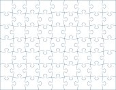 istock Horizontal Puzzle Template 627427728