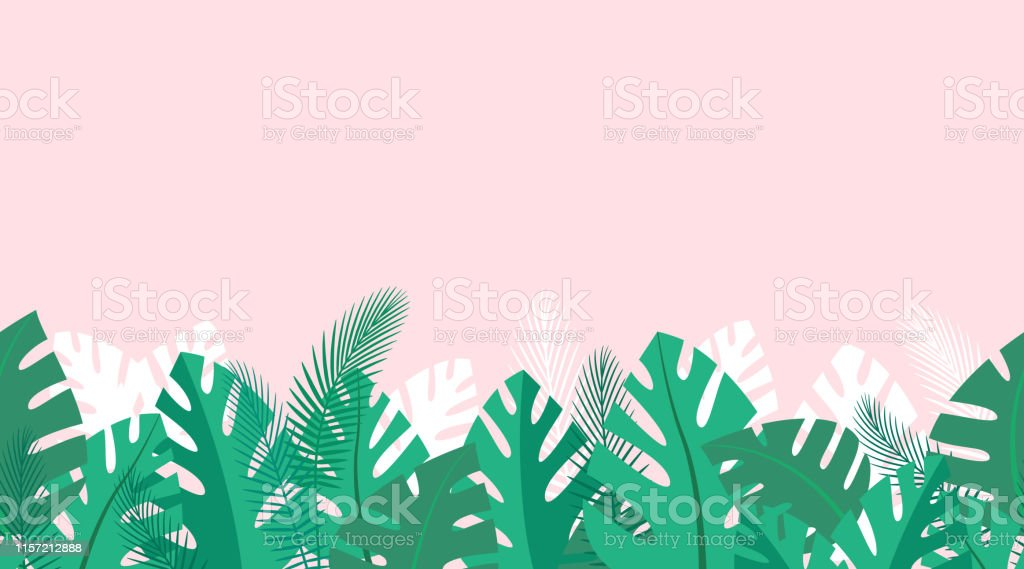 Horizontal Repeated Decoration With Palm Leaves Background With Tropical Plants Vector Wallpaper Stock Illustration Download Image Now Istock We create free stock vectors which designers can use in commercial projects. horizontal repeated decoration with palm leaves background with tropical plants vector wallpaper stock illustration download image now istock