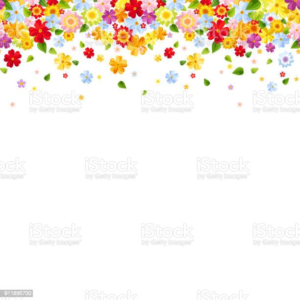 Horizontal seamless background with colorful flowers vector vector id911895700?b=1&k=6&m=911895700&s=612x612&h=nwhdtb wr2fzwi  8shoyughvhjcdqjgn4keluvj4eo=