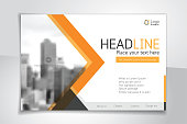istock Horizontal vector background template for page covers, flyers, leaflets or advertising billboards 1133978885