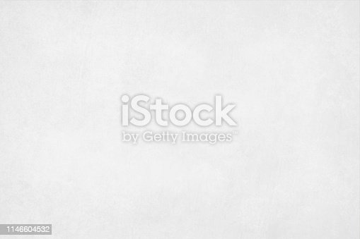 A horizontal vector illustration of a plain blank white colored blotched background
