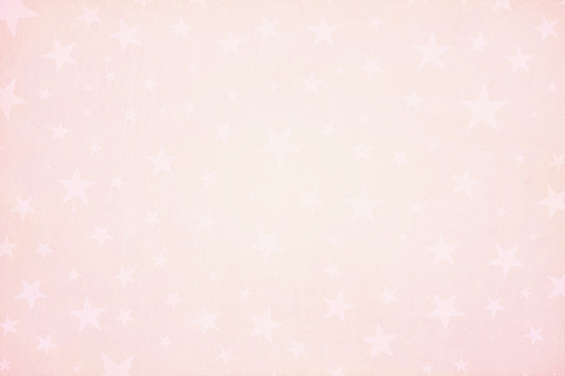 Horizontal vector Illustration of an a Christmas or Valentine Day pink coloured starry grunge textured stock background