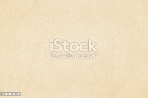 istock Horizontal vector Illustration of an empty light brown shade grungy textured background 1160423707
