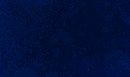 Horizontal vector Illustration of an empty smudged dark navy blue colored textured background