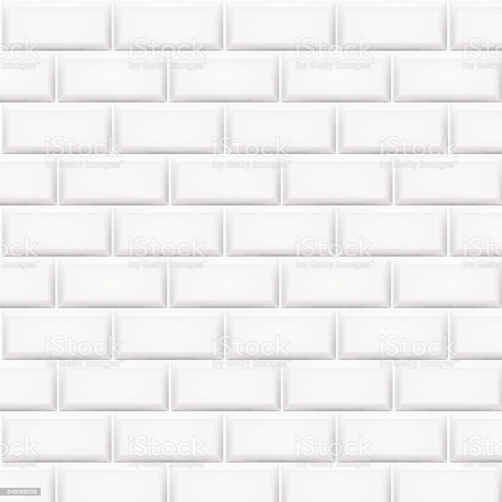 White subway tile texture in stock 3x6 gloss white subway tile white subway tile texture vector illustration art horizontal white tiles background train or subway tile doublecrazyfo Image collections