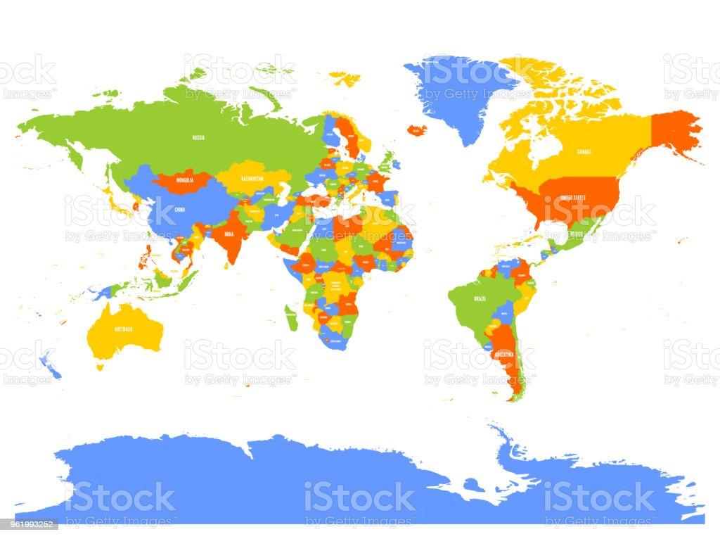 Carte Australie Inversee.Horizontalement Inversee Carte Politique Du Monde Reflet Du