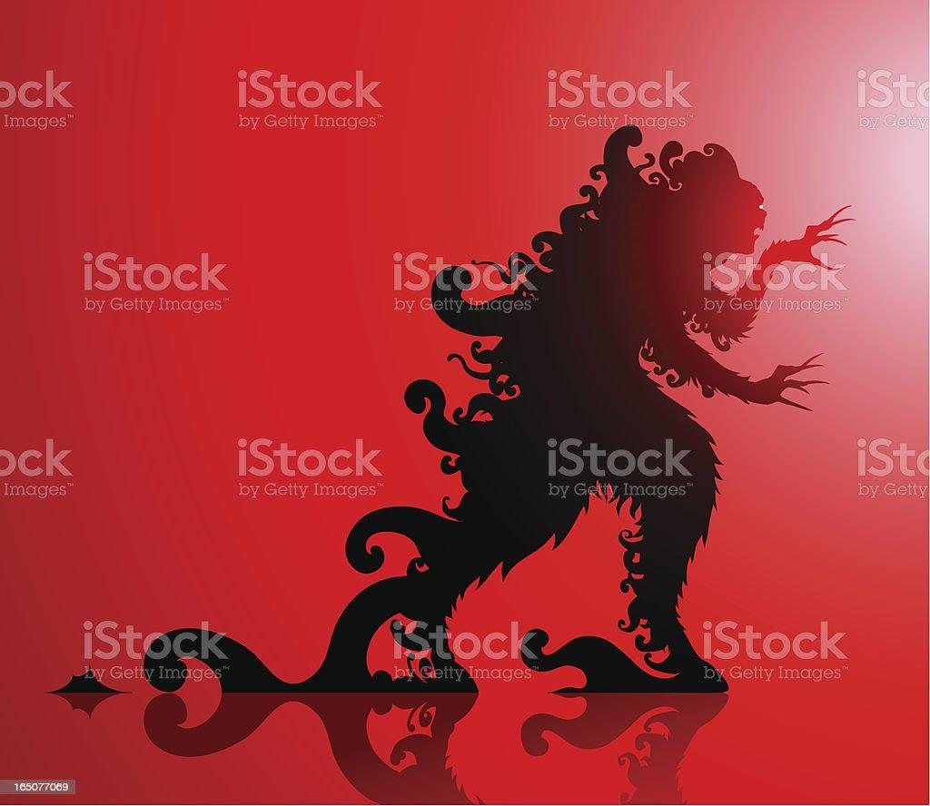 horror creature royalty-free stock vector art