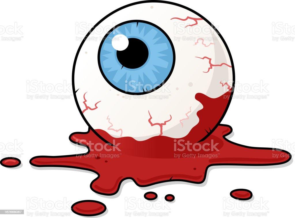 Horror Eye royalty-free stock vector art