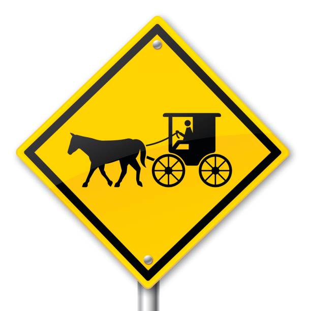 Royalty Free Amish Buggy Clip Art, Vector Images ...