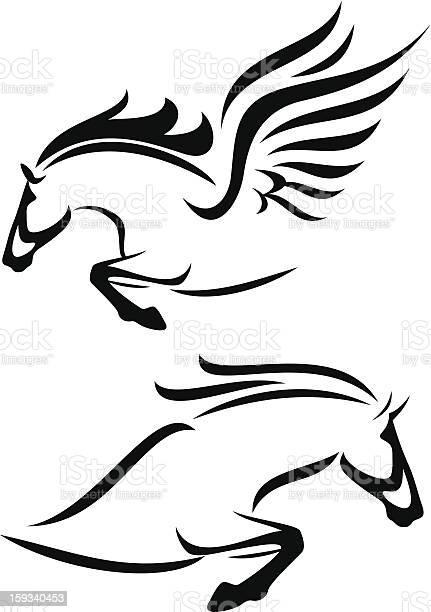 Horse and pegasus vector id159340453?b=1&k=6&m=159340453&s=612x612&h=ibfrikszczodo4fh8i2y 3uvneecpokifknl3wipkfi=