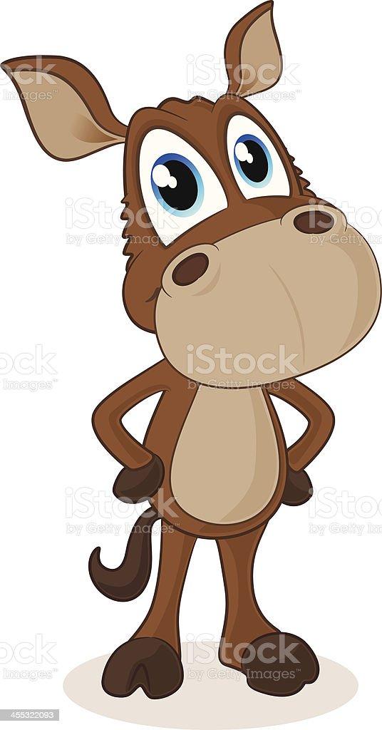 Horse Cartoon vector art illustration