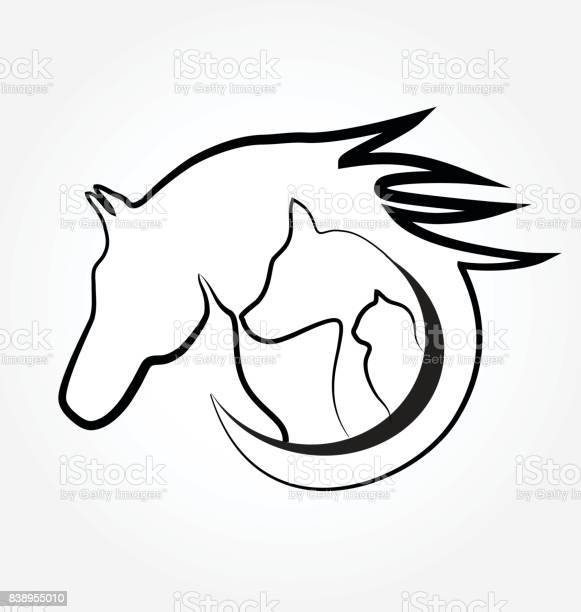 Horse cat and dog icon silhouettes vector id838955010?b=1&k=6&m=838955010&s=612x612&h=04jr81vi2 6rpjrzw1kqj3ng13nkahcmuspezj4zeys=