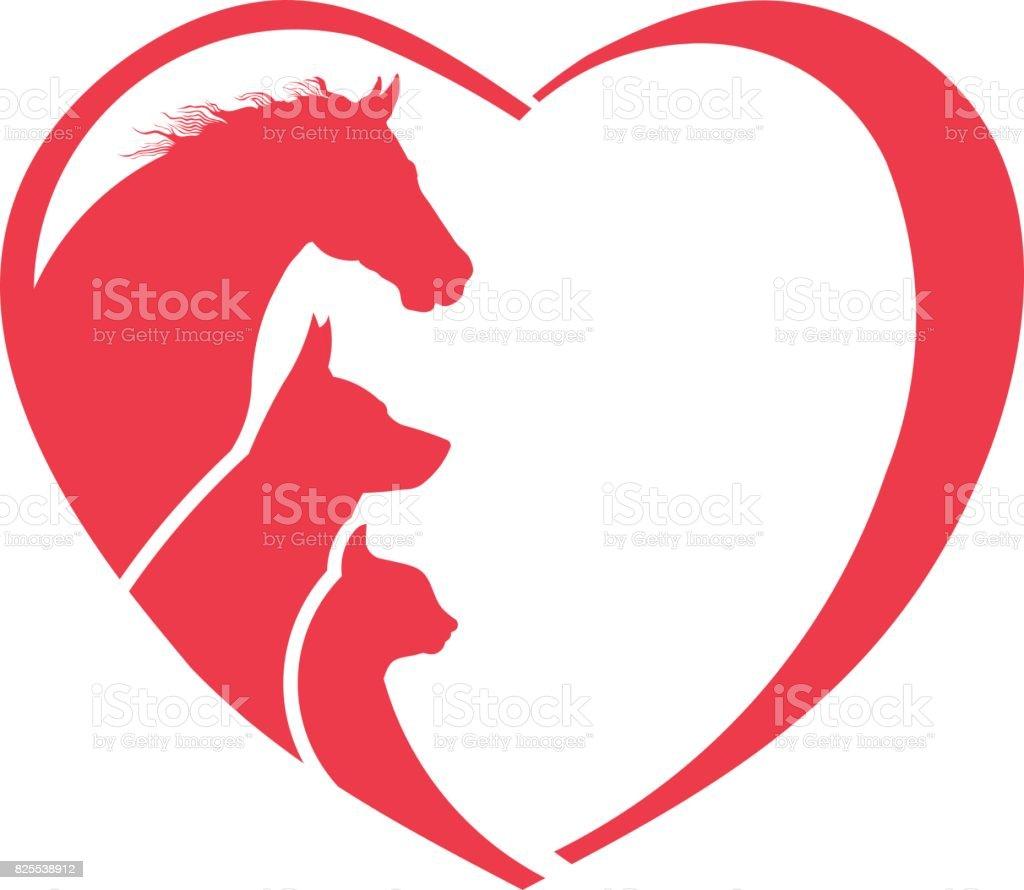 Download Horse Dog Cat Animal Lover Icon Stock Illustration ...