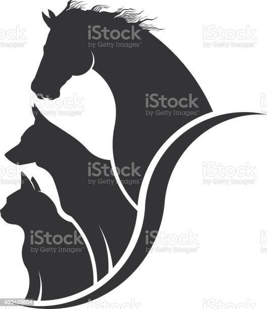 Horse dog cat animal lover illustration vector id653439654?b=1&k=6&m=653439654&s=612x612&h=gywjt afubqtir0ijaxugktlqwijzmdqtkdxdpxpsme=