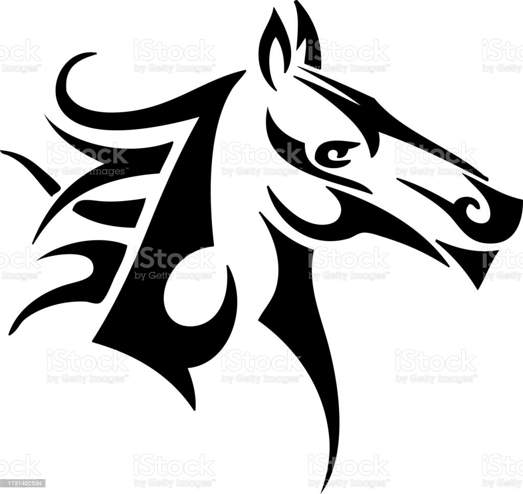 Horse Easy Tribal Design Stock Illustration Download Image Now Istock