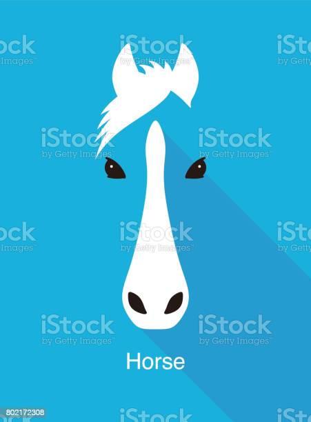 Horse face flat icon simple design vector illustration vector id802172308?b=1&k=6&m=802172308&s=612x612&h=rxnv1tm5agz5eno7bsrlbfqjwjbjuascxiqfwvzupjo=