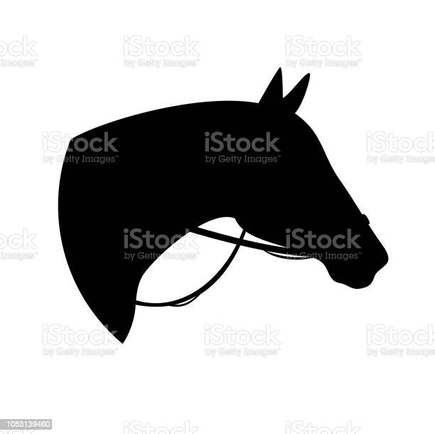 Horse head and bridle black silhouette vector id1053139460?b=1&k=6&m=1053139460&s=612x612&h=twald7l6ze1ewshybmsfo ebj2geebfs0hbc xycphu=