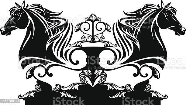 Horse head design vector id467755115?b=1&k=6&m=467755115&s=612x612&h=sgayubq81eutyu7vt5ii pxpckiuk58 qj ncvwockg=