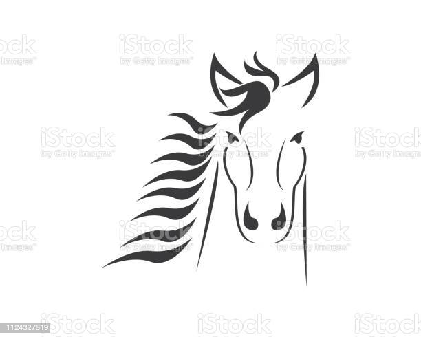 Horse head icon vector illustration vector id1124327619?b=1&k=6&m=1124327619&s=612x612&h=x14g6aetnbosnwi57mvmjcno5cnq wm3mkw8ysfyuiq=