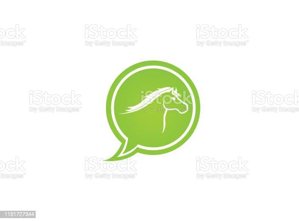 Horse head symbol in chat icon for logo design illustration vector id1151727344?b=1&k=6&m=1151727344&s=612x612&h=yxypb8sw9261tczjrx1zxzq xeueic9ilsfrzlylrqc=