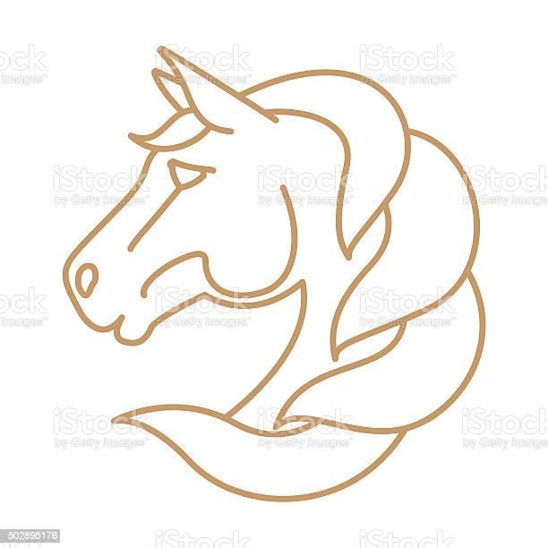 Horse head vector icon line art style vector id502895176?b=1&k=6&m=502895176&s=612x612&h=vckmtezx1o4y2oqvgv7tvivpozj4jo6xsqt sruiggy=