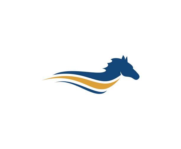 Icône de cheval - Illustration vectorielle