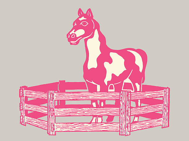 Top 60 Horse Corral Clip Art Vector Graphics And