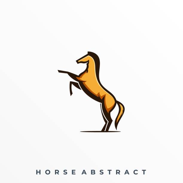 Horse Jump Illustration Vector Template Horse Jump Illustration Vector Template. Suitable for Creative Industry, Multimedia, entertainment, Educations, Shop, and any related business. mammal stock illustrations