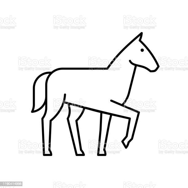 Horse line icon vector id1190414998?b=1&k=6&m=1190414998&s=612x612&h=cutyzuh43yngprgakhpk9xwjei5pgd5 juq2sq8ngya=