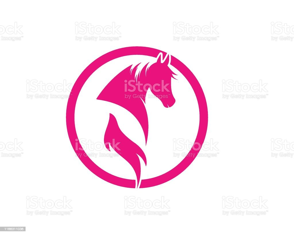 Horse Logo Template Vector Illustration Stock Illustration Download Image Now Istock