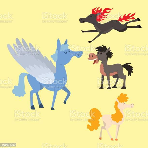 Horse pony stallion vector breeds color farm equestrian mammal mane vector id955971020?b=1&k=6&m=955971020&s=612x612&h=jea4rvwhsilj1kqu4g5abjy9aa388jrzw5vmdjjbyg4=