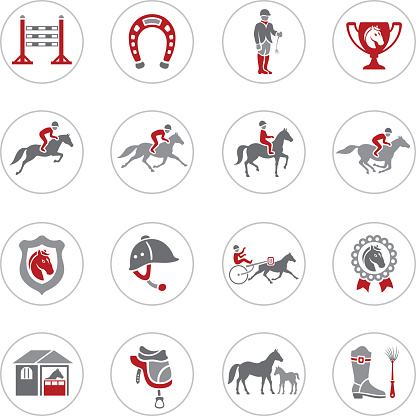 Horse Racing Icons