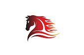Horse Red Logo