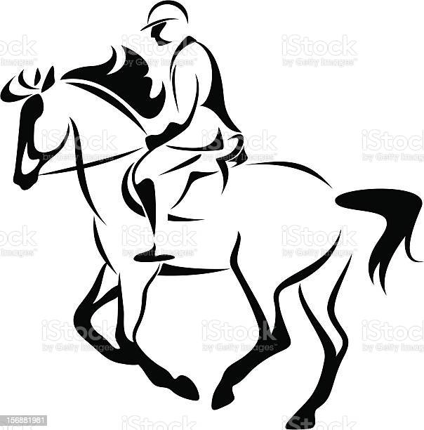 Horse riding vector id156881981?b=1&k=6&m=156881981&s=612x612&h=20wwkl2casleoga1oxxxybgmlzebvokbd vowahnxk8=