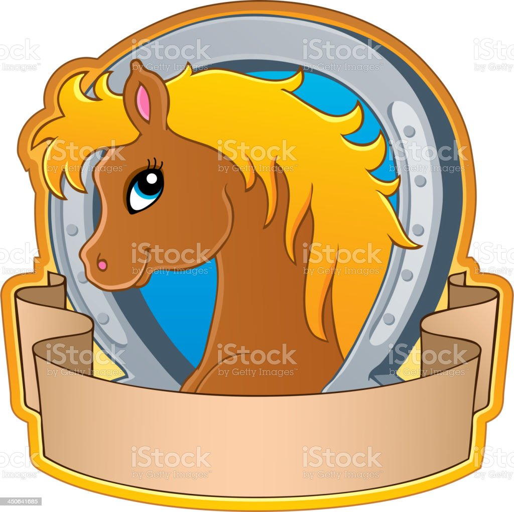 Horse theme image 3 royalty-free horse theme image 3 stock vector art & more images of animal