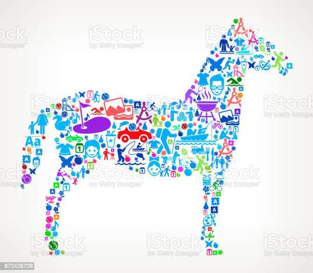 Horse vacation and summer fun icons background vector id672426726?b=1&k=6&m=672426726&s=612x612&h=l 1lefjqdknovzqnobqowncv4yf35vnzpg0jsu9  sq=