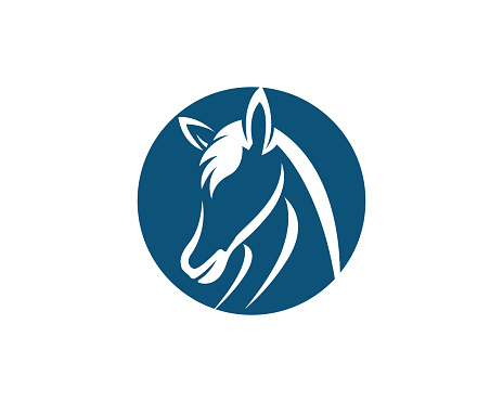 Horse Vector icon illustration design