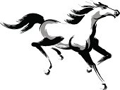 horse (running)
