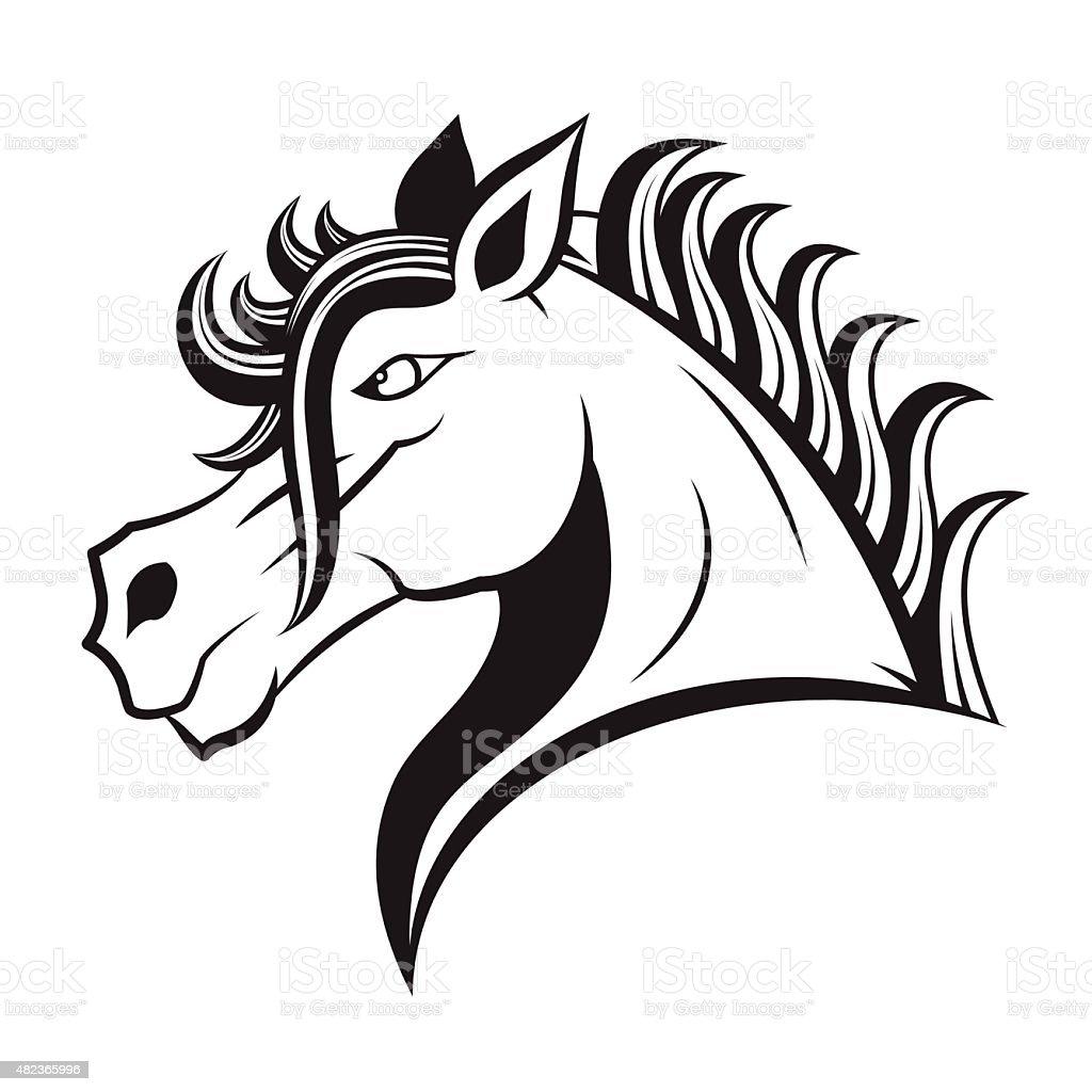 horse vector stock vector art more images of 2015 482365996 istock rh istockphoto com horse vector art free horse head vector art