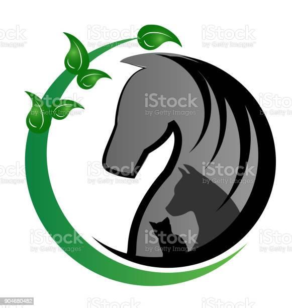 Horsedog and cat silhouettes vector identity card vector id904680482?b=1&k=6&m=904680482&s=612x612&h=wheoenorc961jflswff r k0bsbkpbsxrnsiloln9mm=