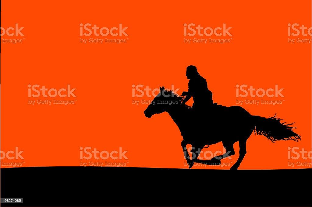 Horseman 실루엣 royalty-free horseman 실루엣 검정에 대한 스톡 벡터 아트 및 기타 이미지