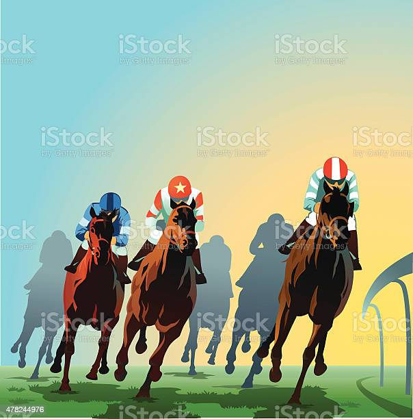 Horses racing around the bend front view vector id478244976?b=1&k=6&m=478244976&s=612x612&h= tmehtq7jt0q8dnrrno12ne65fmevqgx1ztrrxx1eke=
