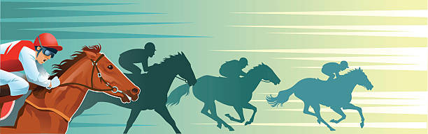 Best Racehorse Illustrations, Royalty-Free Vector Graphics