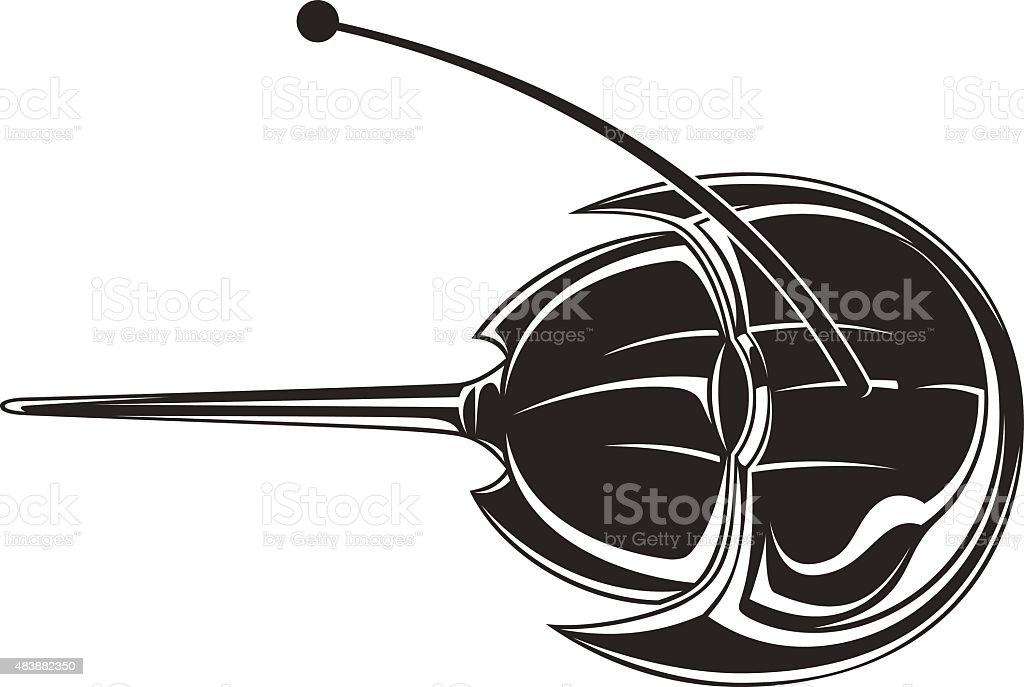 Horseshoe Crab stock vector art 483882350 | iStock