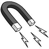 Horseshoe Magnet Illustration