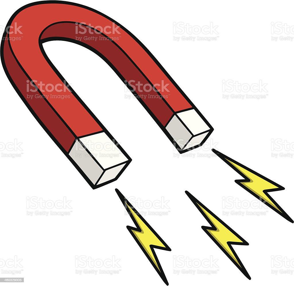 royalty free horseshoe magnet clip art vector images rh istockphoto com magnet clip clipart bar magnet clip art
